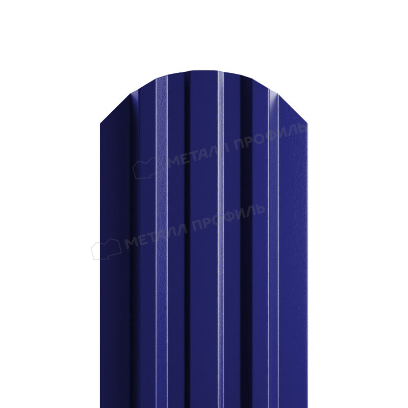 Штакетник металлический МП LАNE-O 16,5х99 NormanMP (ПЭ-01-5002-0.5)