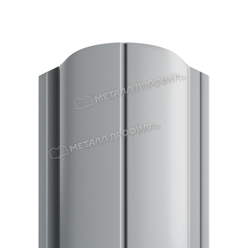 Штакетник металлический МП ELLIPSE-O 19х126 (ПЭ-01-7004-0.45)