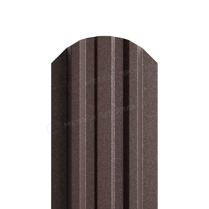 Штакетник металлический МП LАNE-O 16,5х99 (VikingMP E-20-RR32-0.5)