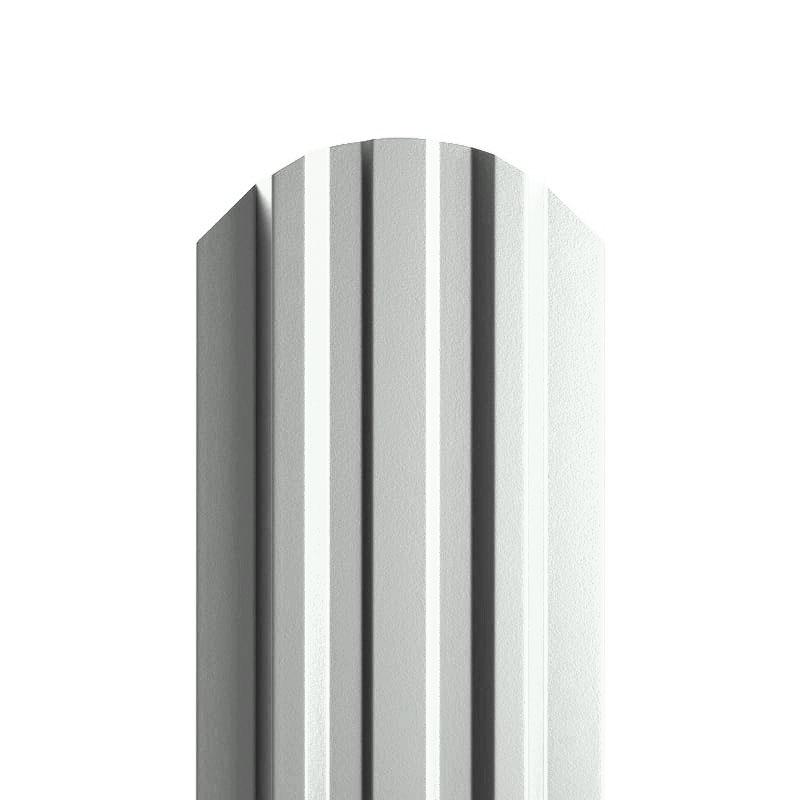 Штакетник металлический МП LАNE-O 16,5х99 NormanMP (ПЭ-01-9003-0.5)