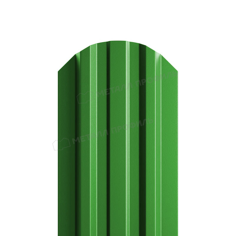 Штакетник металлический МП LАNE-O 16,5х99 NormanMP (ПЭ-01-6018-0.5)