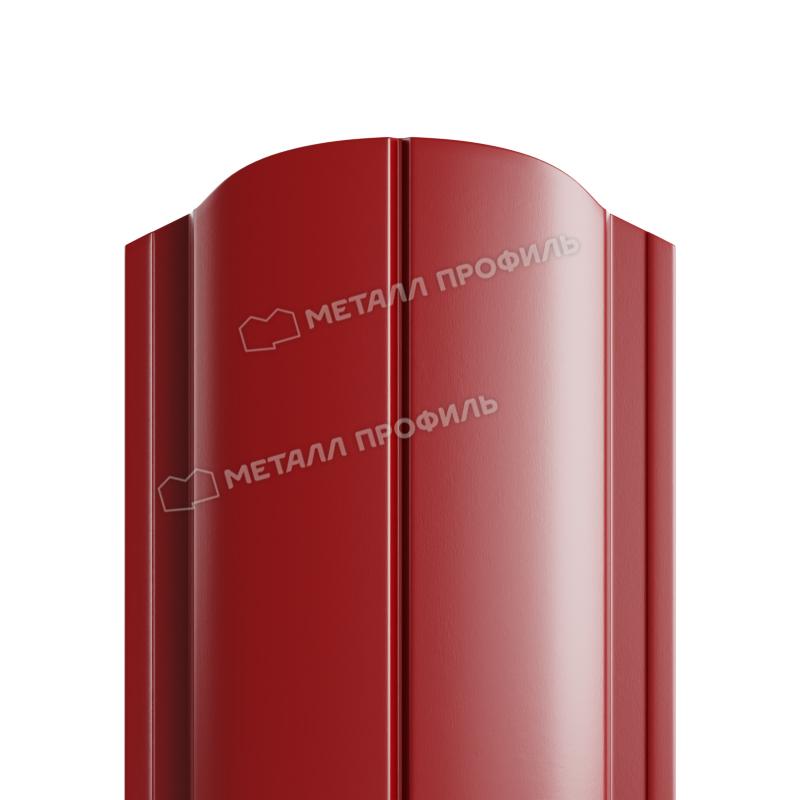 Штакетник металлический МП ELLIPSE-O 19х126 (ПЭ-01-3011-0.45)