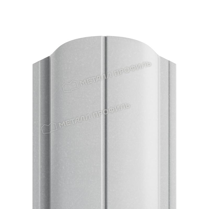 Штакетник металлический МП ELLIPSE-O 19х126 (ПЭ-01-9006-0.45)