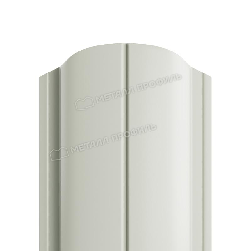Штакетник металлический МП ELLIPSE-O 19х126 (ПЭ-01-9003-0.45)
