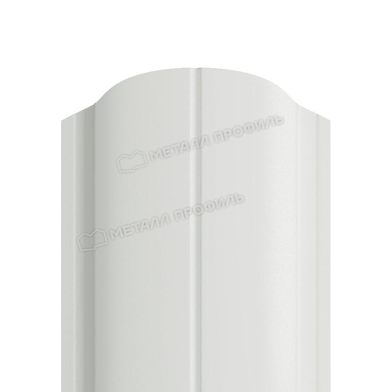 Штакетник металлический МП ELLIPSE-O 19х126 (ПЭ-01-9010-0.45)