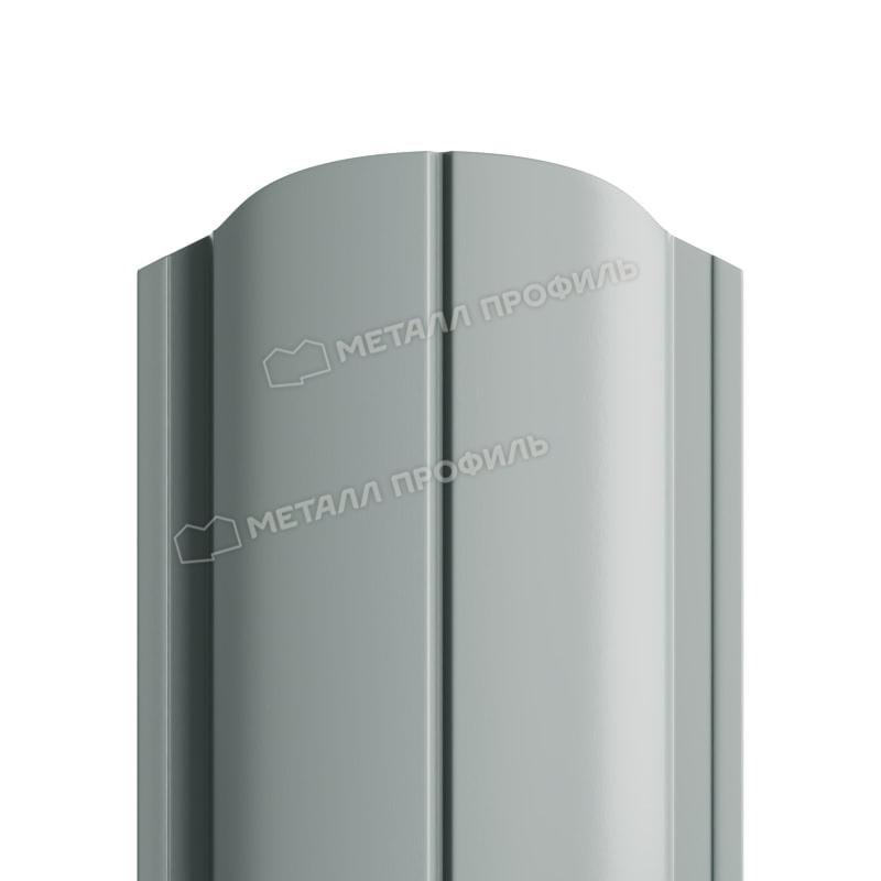 Штакетник металлический МП ELLIPSE-O 19х126 (ПЭ-01-7005-0.45)