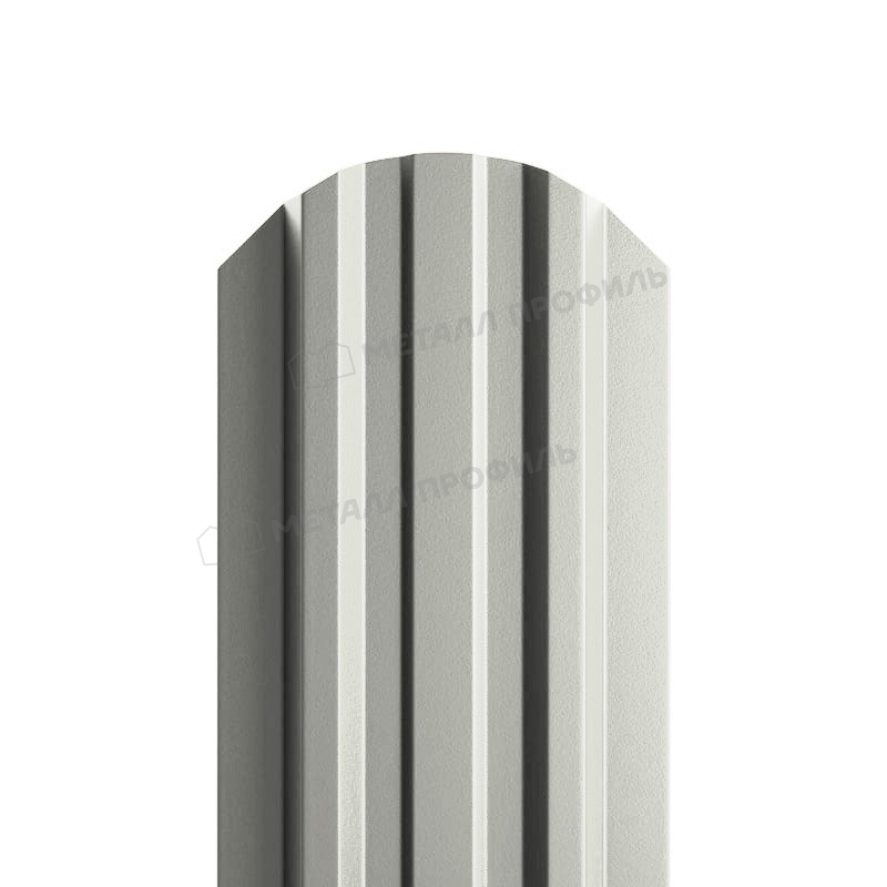 Штакетник металлический МП LАNE-O 16,5х99 NormanMP (ПЭ-01-9002-0.5)